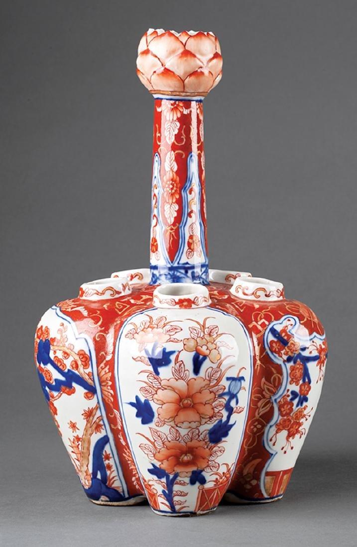 "Japanese Imari Porcelain ""Multiple"" Vase"