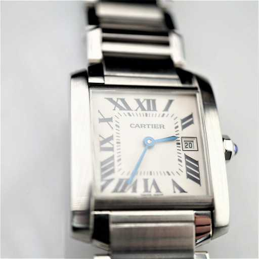 0e0992b1bae Cartier Tank Francaise 2485 Stainless Steel 25mm