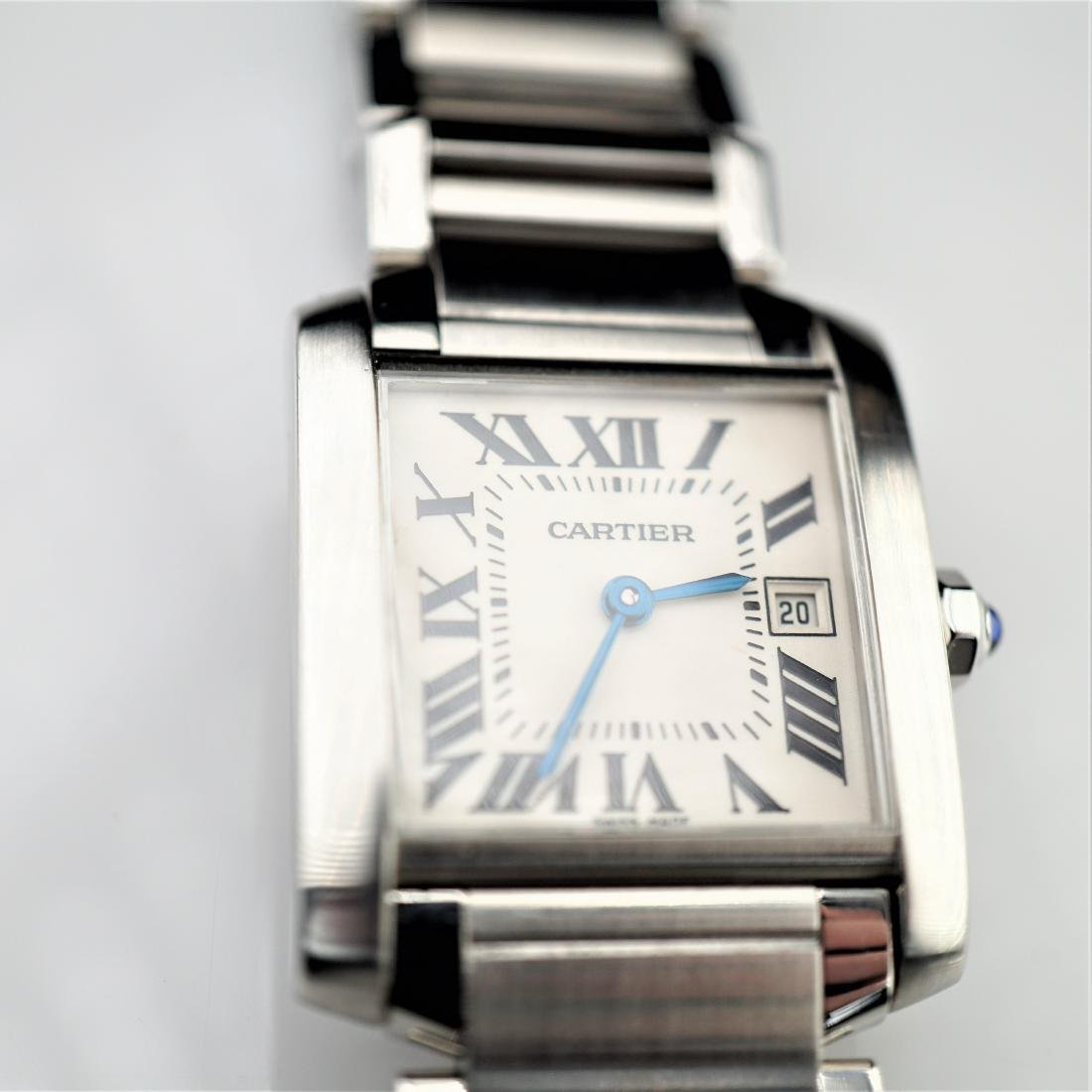 Cartier Tank Francaise 2485 Stainless Steel 25mm
