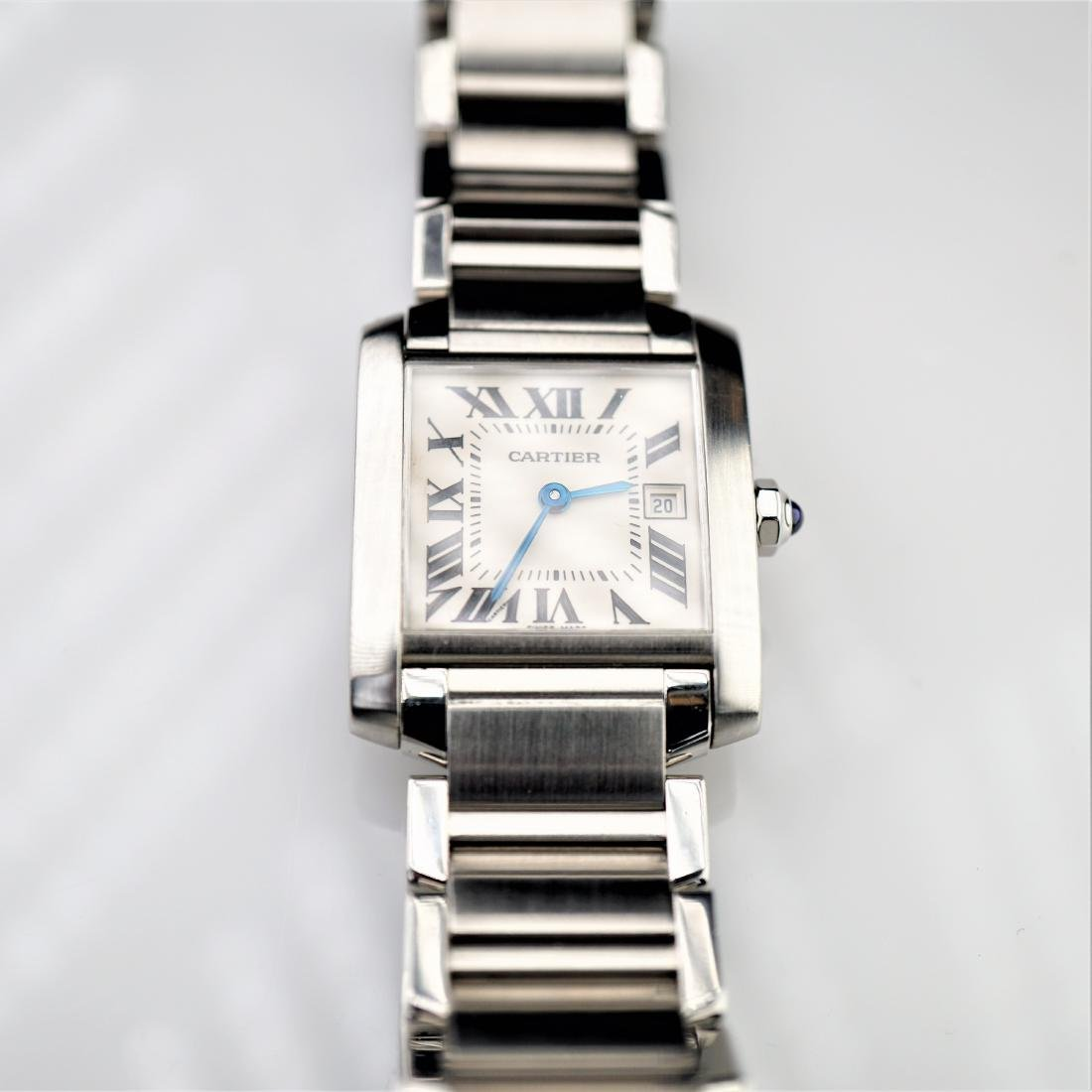 Cartier Tank Francaise 2485 Stainless Steel 25mm - 2