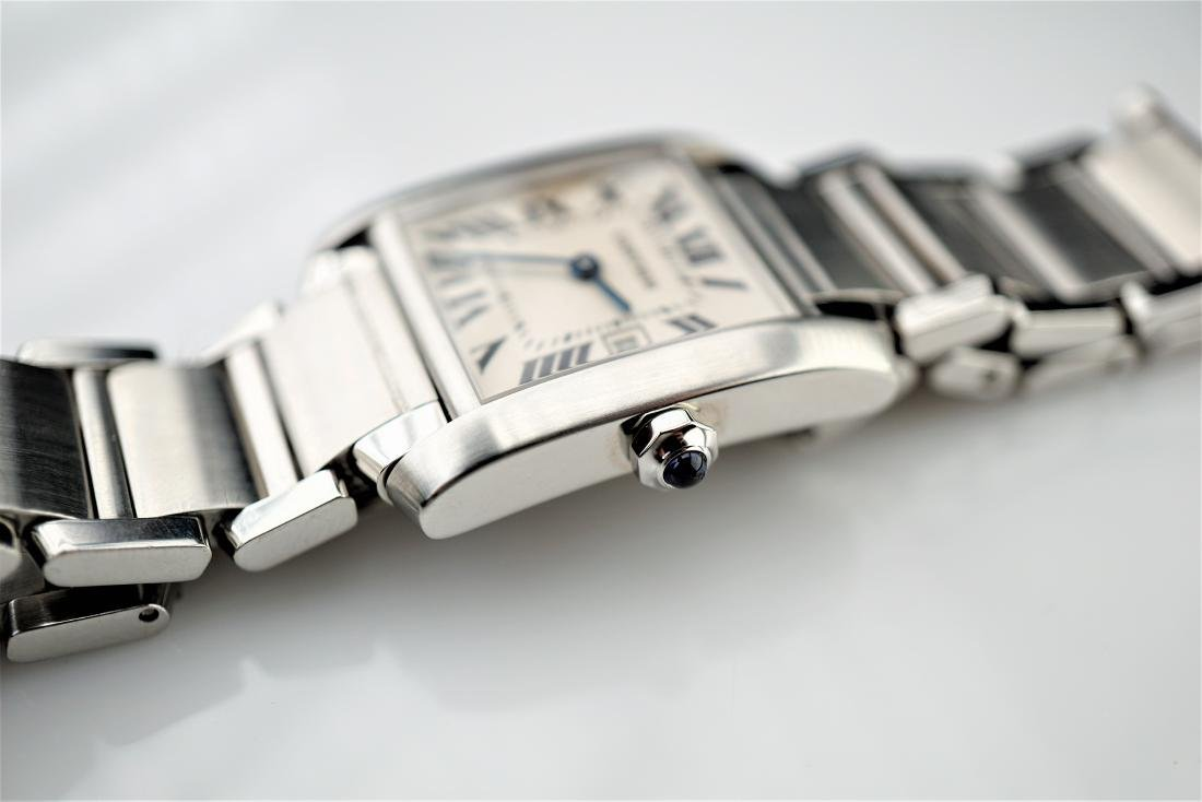 Cartier Tank Francaise 2485 Stainless Steel 25mm - 3