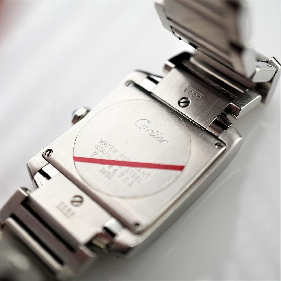 Cartier Tank Francaise 2485 Stainless Steel 25mm - 4