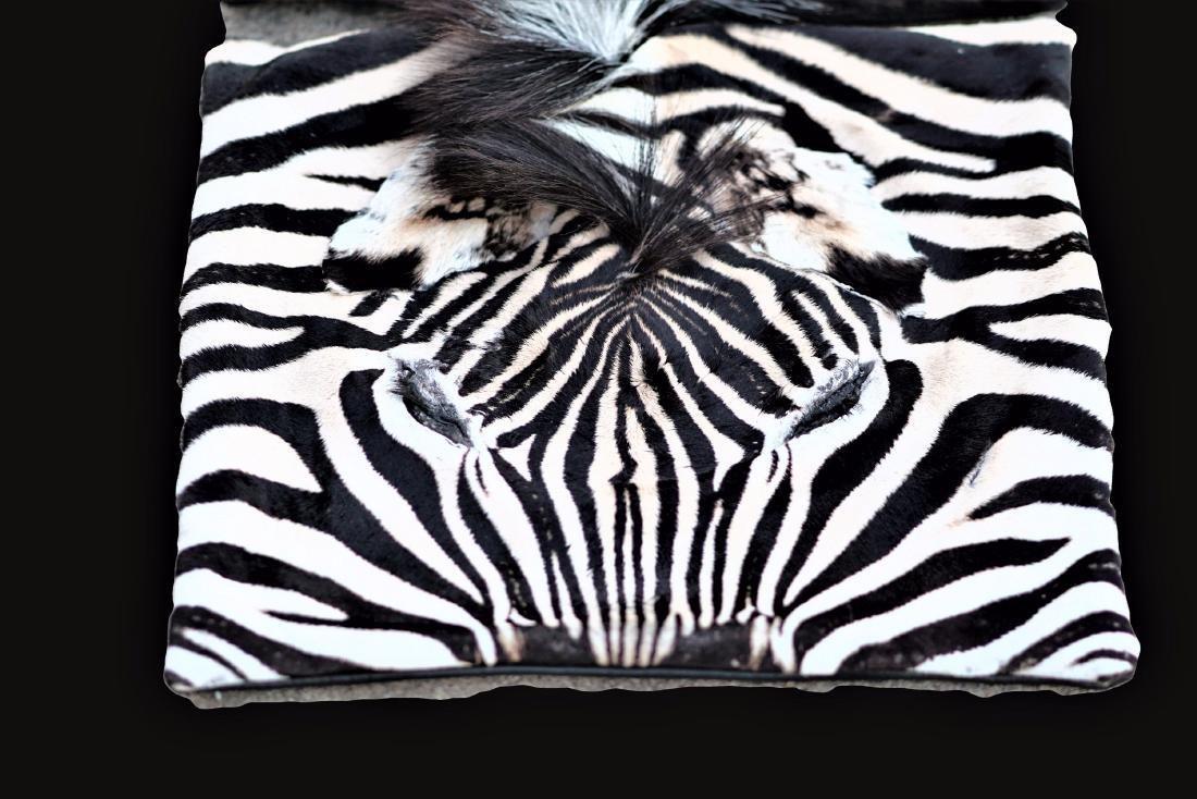 """Group of 3 Zebra Skin Pillow Cases 17""""x17"""" - 2"""
