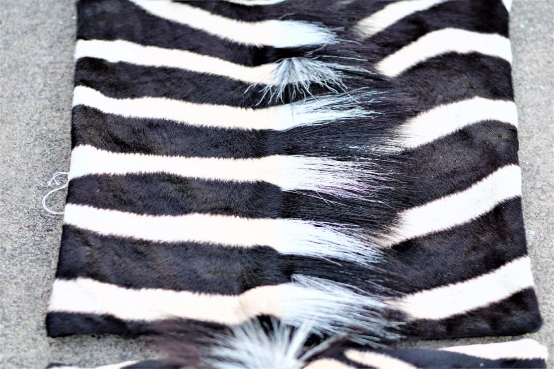 """Group of 3 Zebra Skin Pillow Cases 17""""x17"""" - 4"""