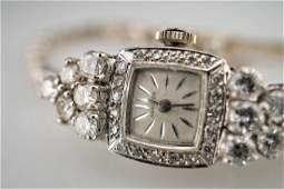 14k WG Hamilton with 375 CTTW of White Diamonds