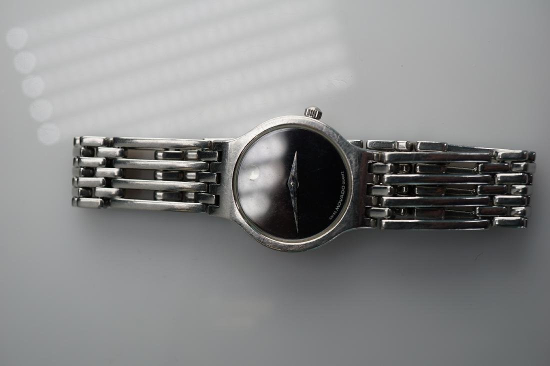 Ladies Stainless Movado Watch - 2