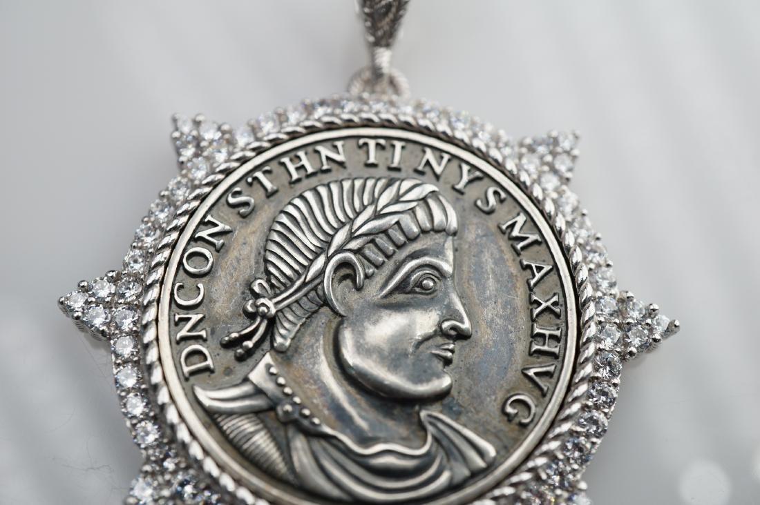 Judith Ripka Sterling Silver Pendant - 2