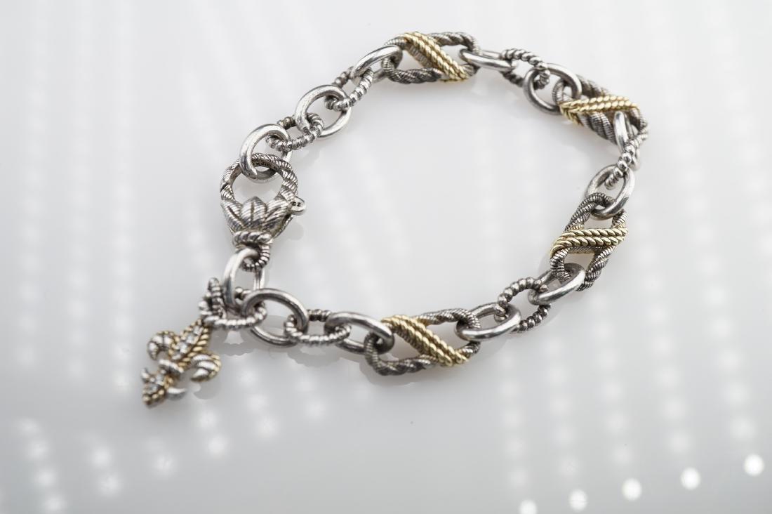 Judith Ripka Sterling Silver Chain Bracelet - 2