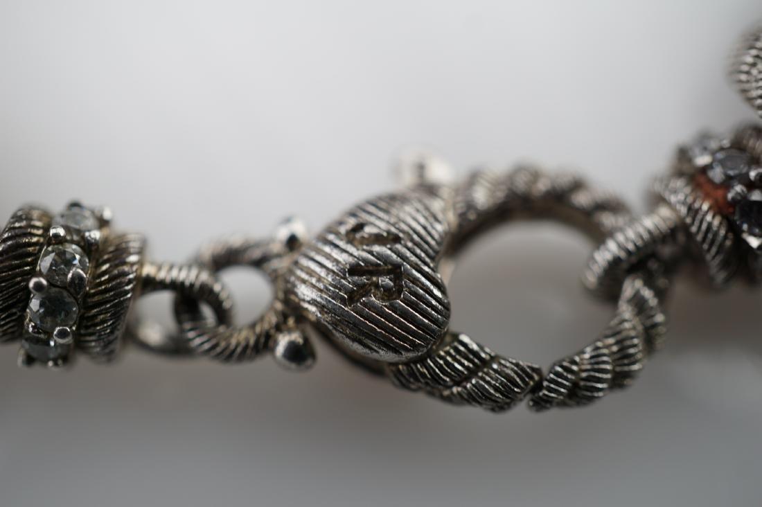 Judith Ripka Sterling Silver Charm Bracelet - 5