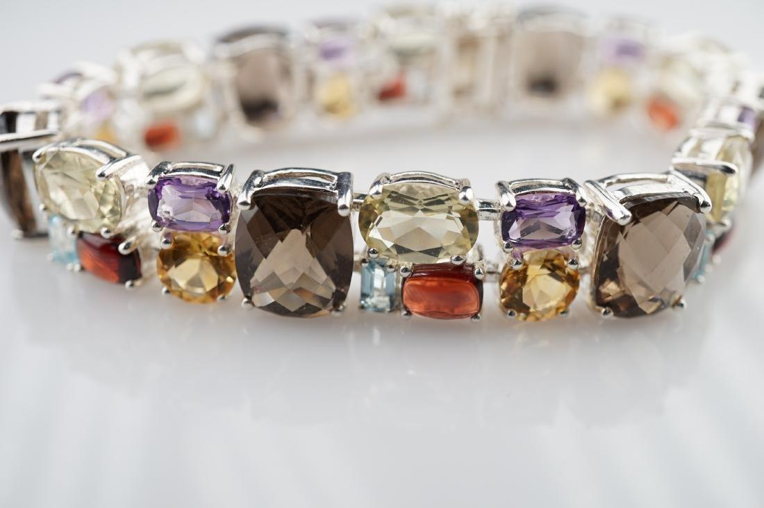 50+ CTTW Multi Stone Bracelet