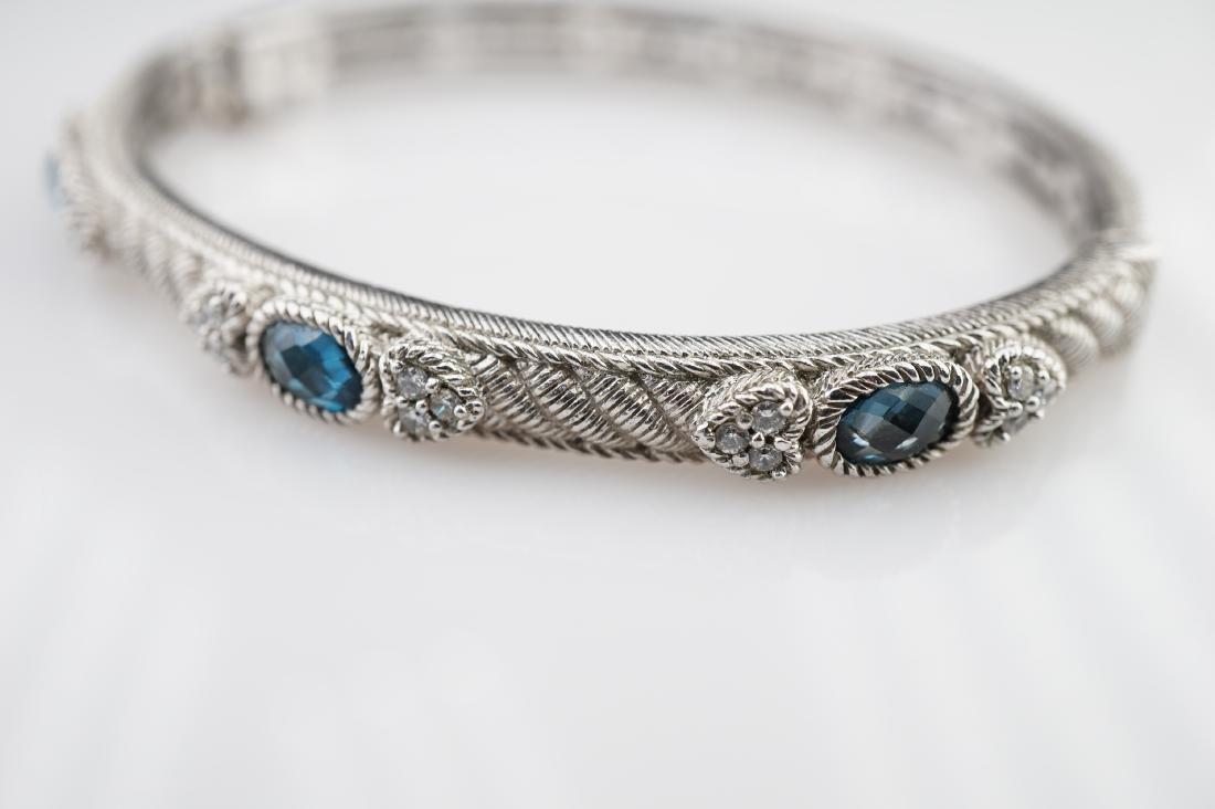 Judith Ripka Sterling Silver Bracelet - 3