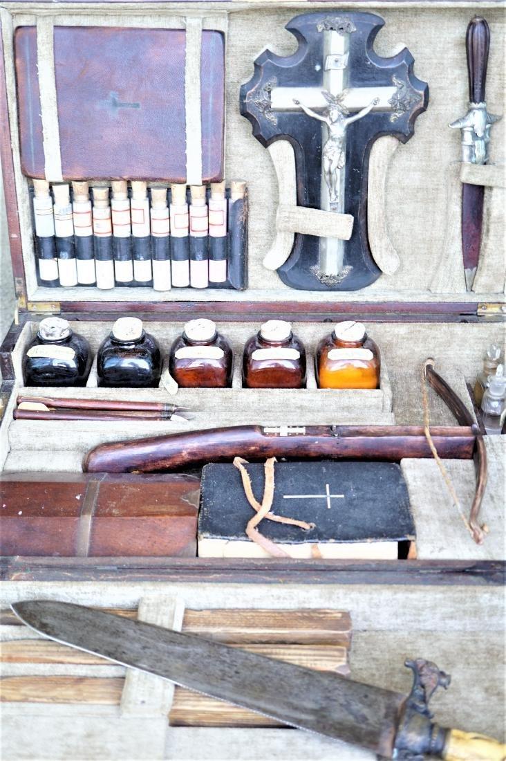 Antique 20th Century Vampire Killing Kit
