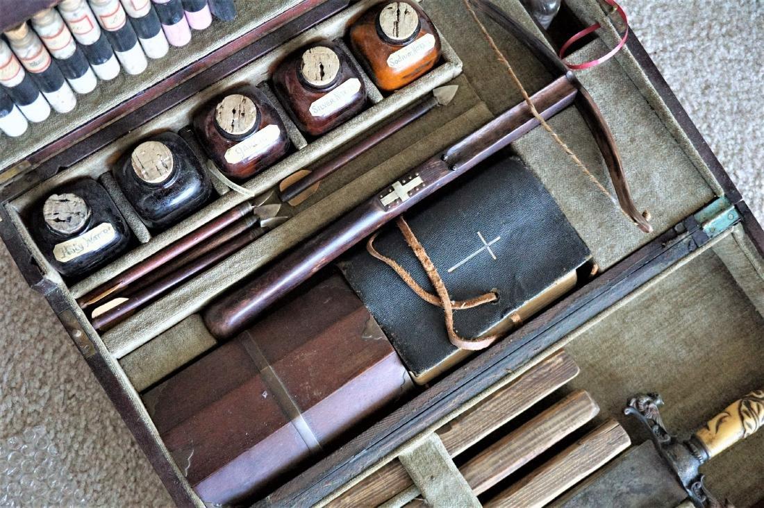 Antique 20th Century Vampire Killing Kit - 2
