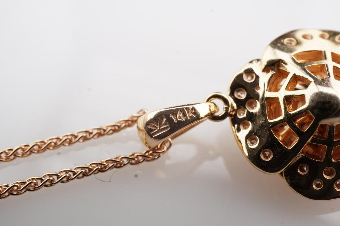 14K RG Le Vian Diamond Necklace - 5