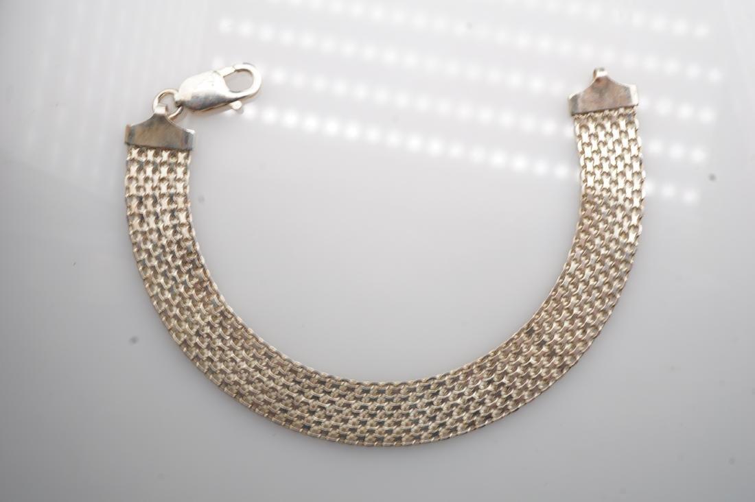 14k WG Mesh Bracelet - 2