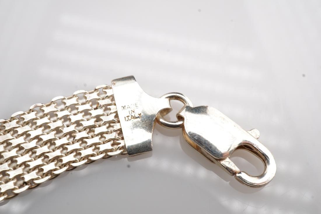 14k WG Mesh Bracelet - 3