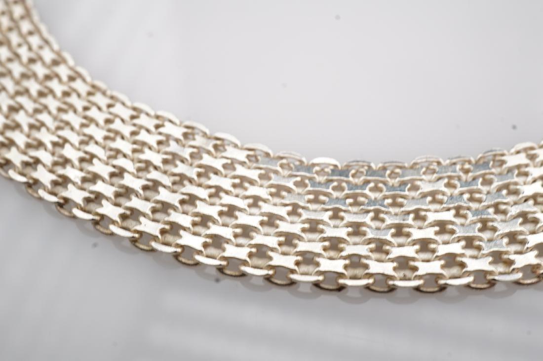 14k WG Mesh Bracelet - 5