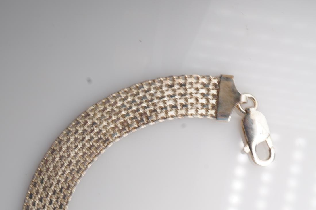 14k WG Mesh Bracelet - 6