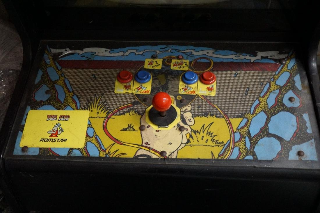 """Stand-Up Arcade Game """" Tiger Road"""" - 2"""