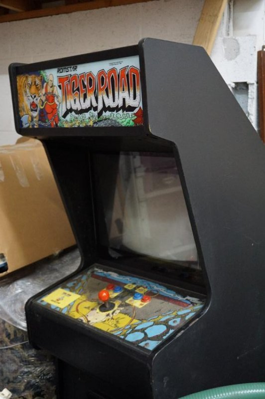 """Stand-Up Arcade Game """" Tiger Road"""" - 4"""