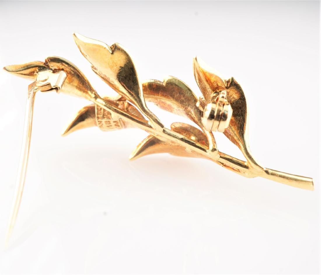 Tiffany & Co. 18k YG Brooch - 3