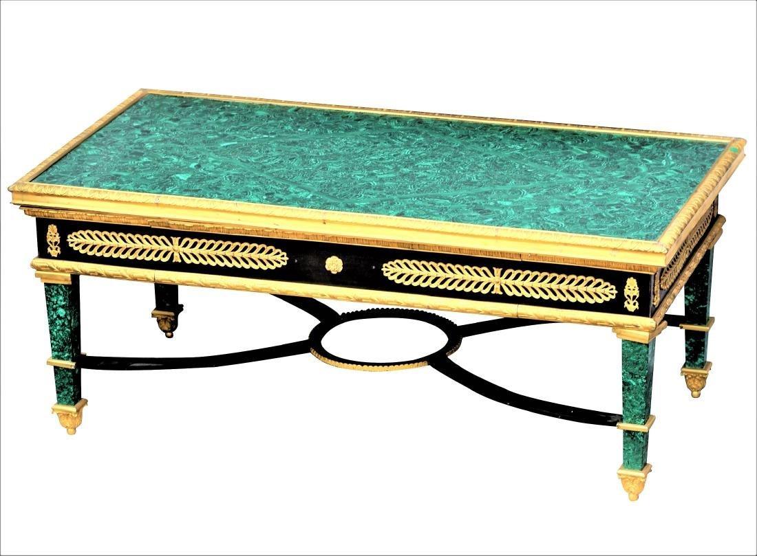 Malachite and Dore Bronze Tables - 2