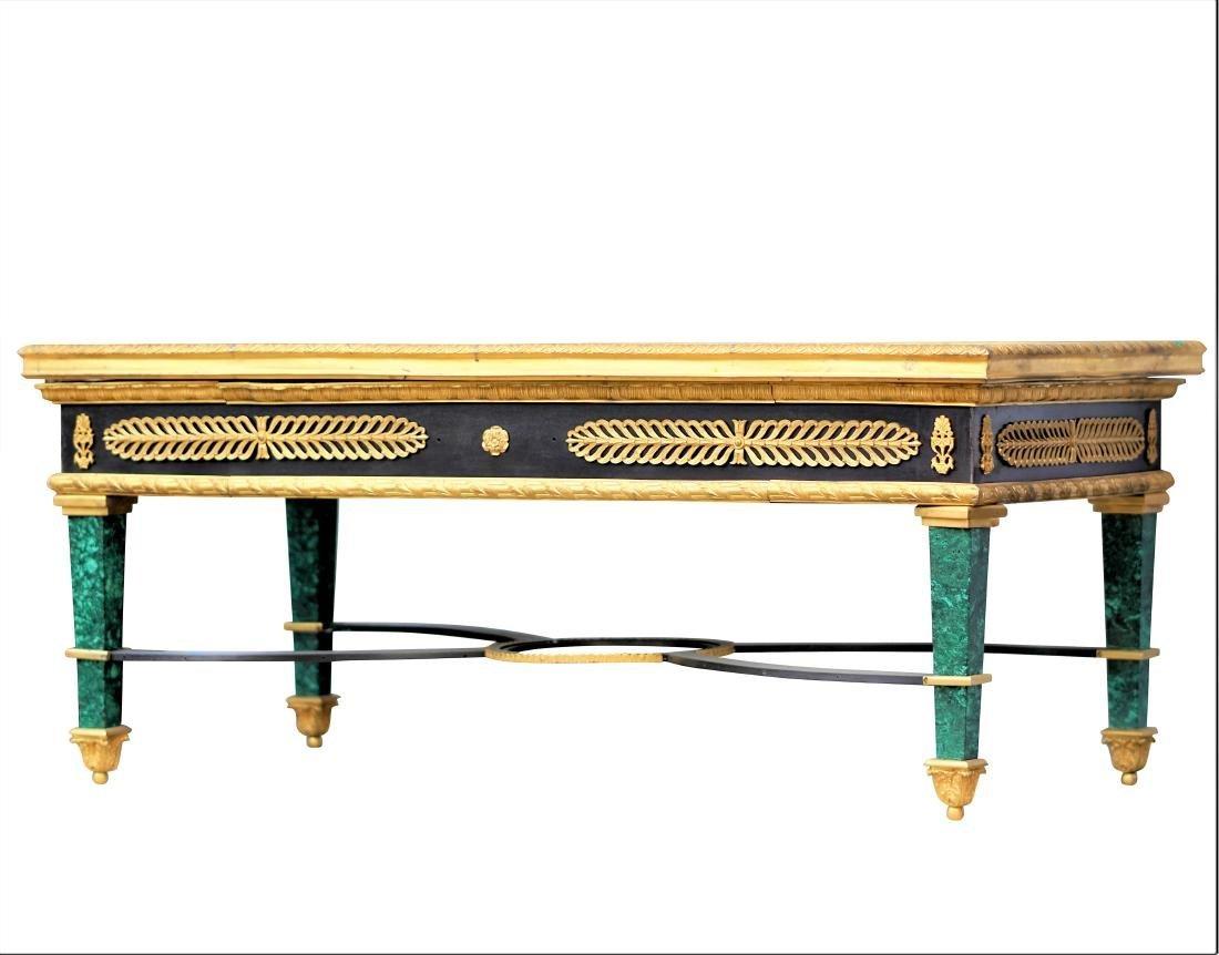 Malachite and Dore Bronze Tables - 3