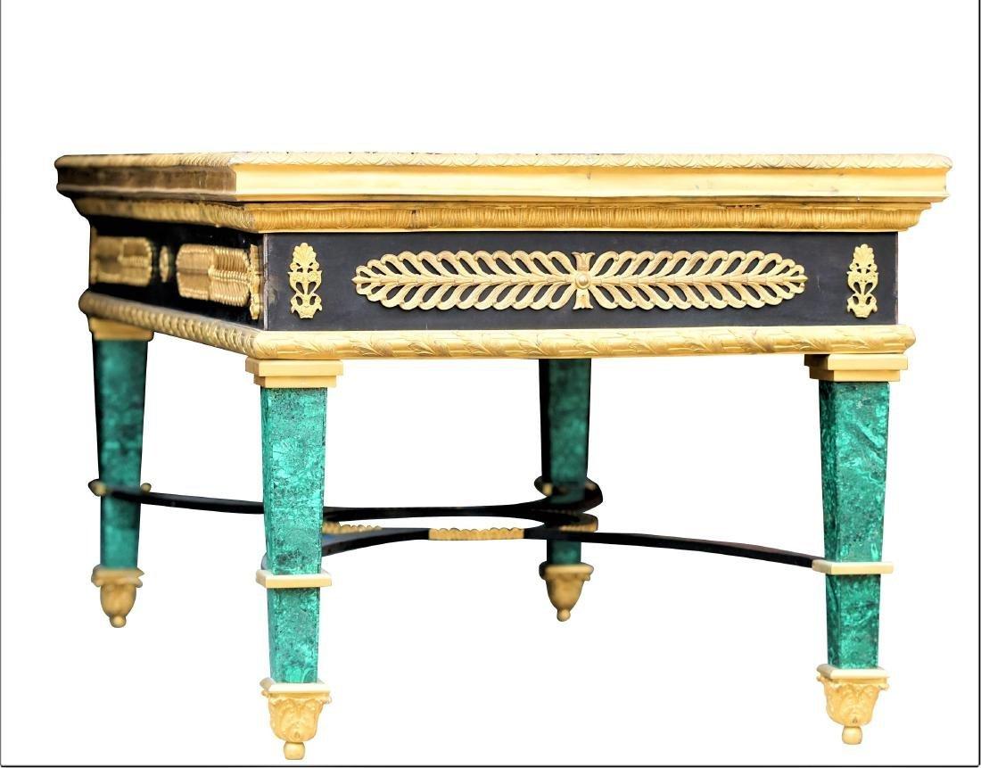 Malachite and Dore Bronze Tables - 5