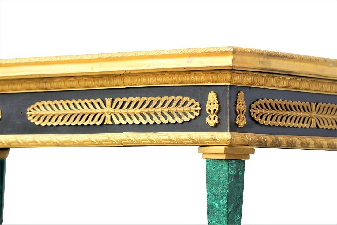 Malachite and Dore Bronze Tables - 6