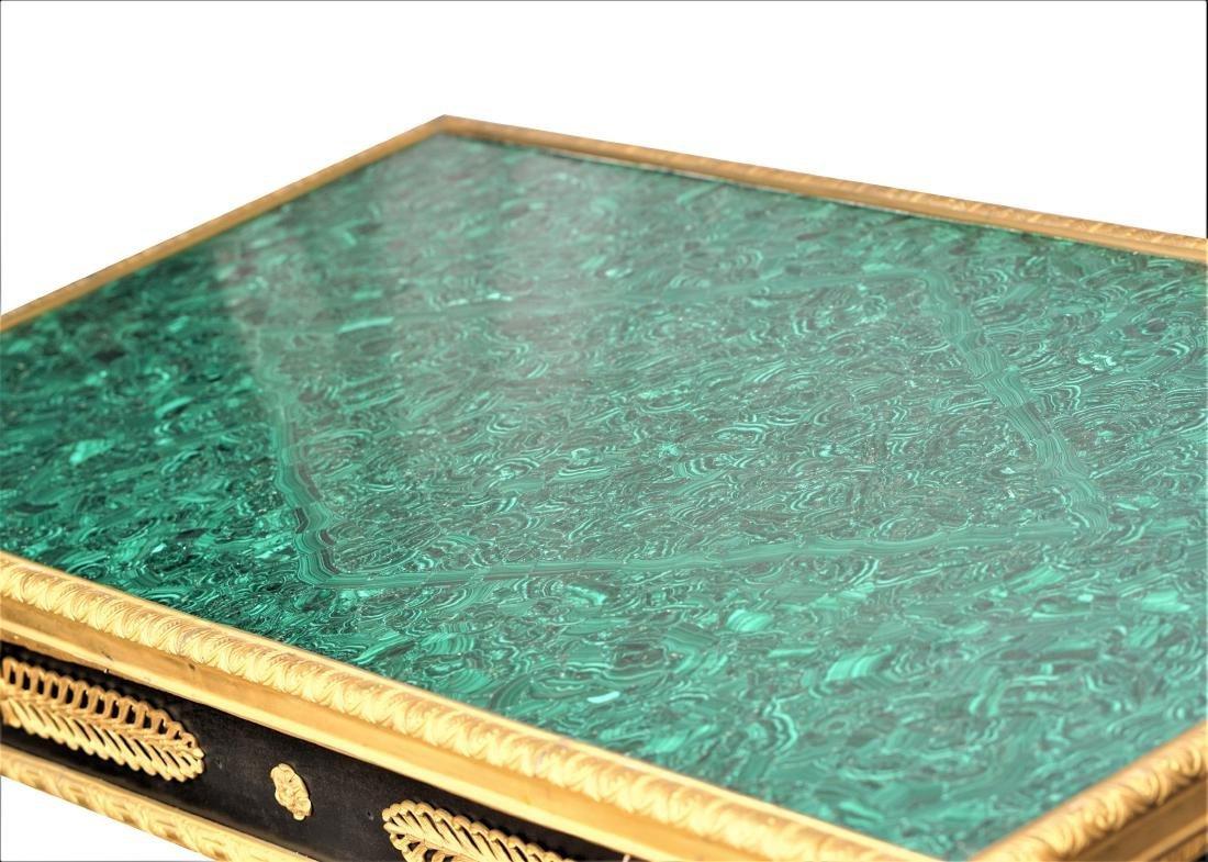 Malachite and Dore Bronze Tables - 8
