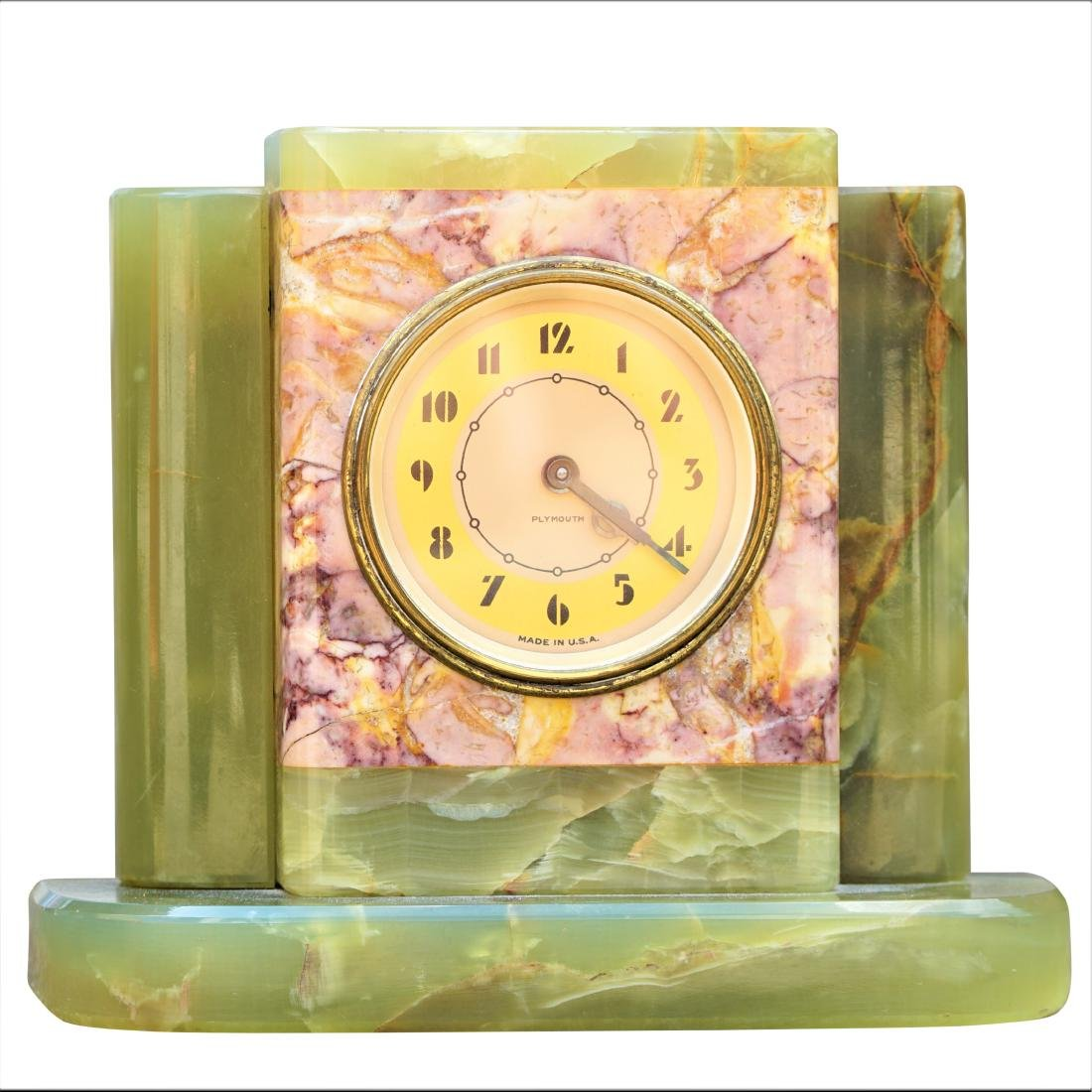 Art Deco Plymouth Mantel Clock
