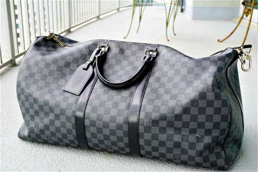 Louis Vuitton Keepall Bandouliere 55 Damier aa0cce19bf