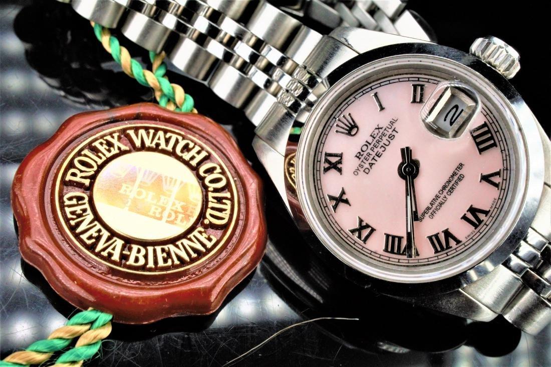 Ladies Stainless Steel Rolex Datejust