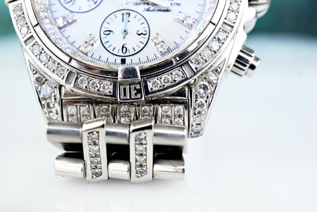 Breitling Chronomat Evolution With Diamonds - 4