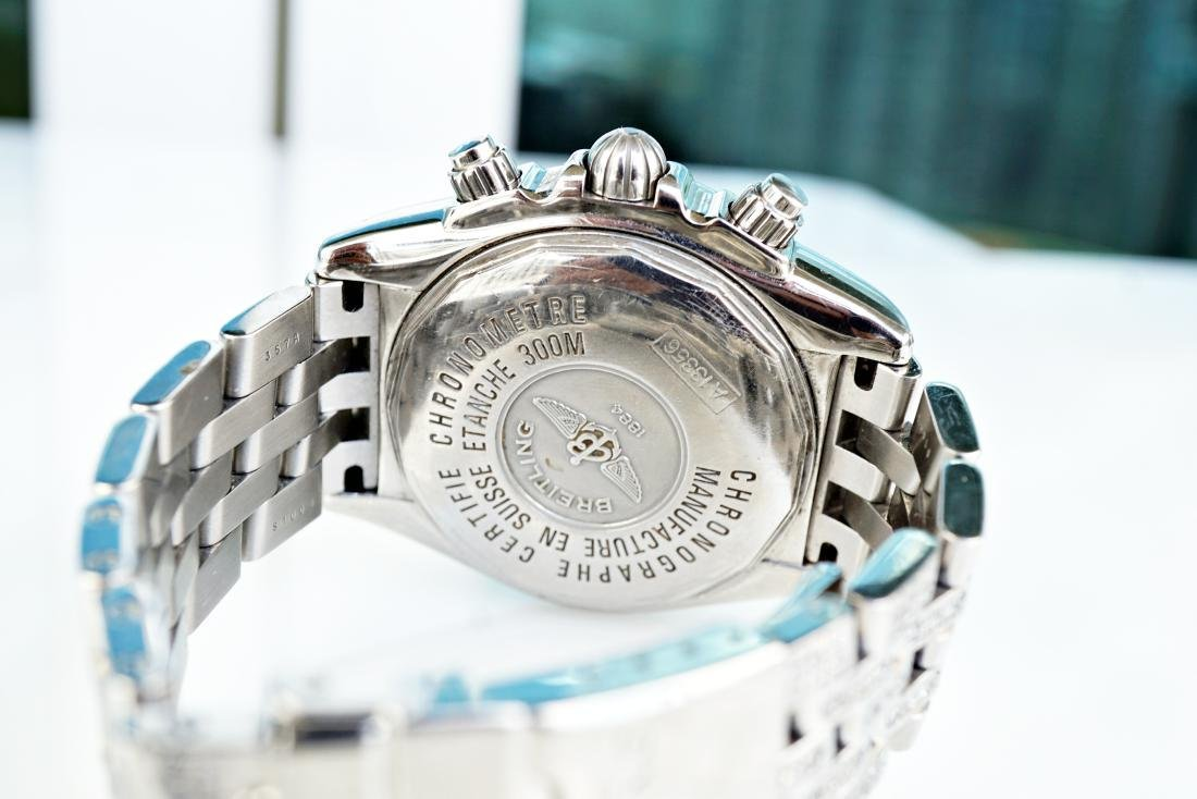 Breitling Chronomat Evolution With Diamonds - 6