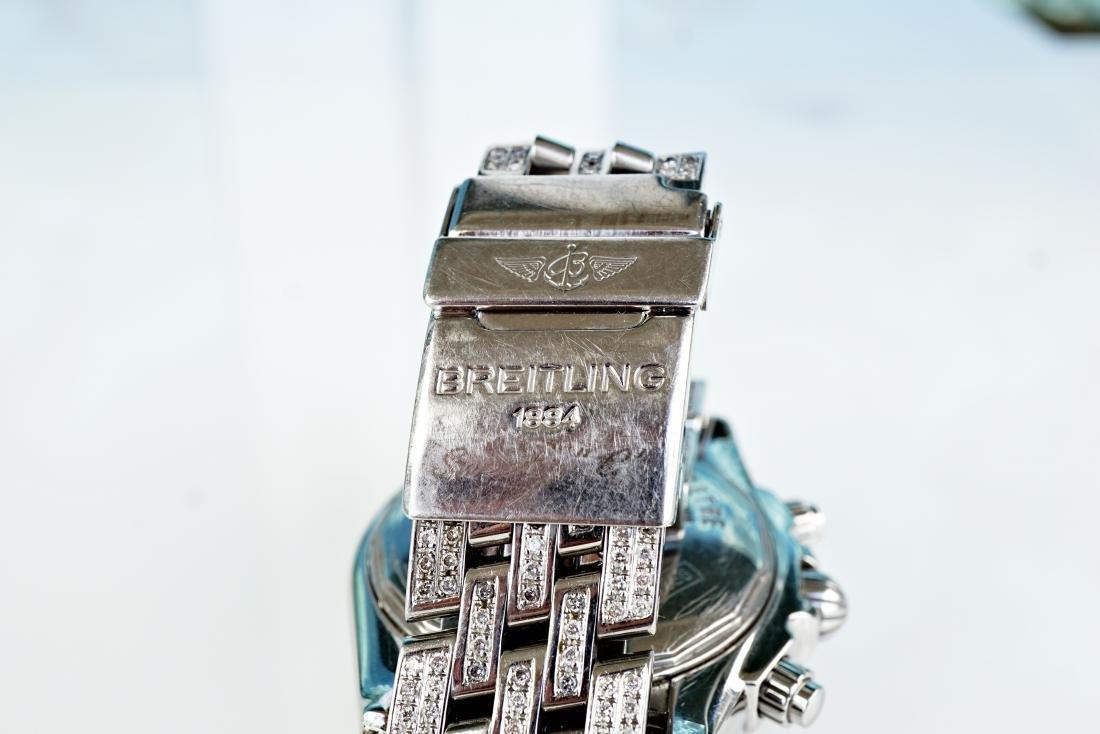 Breitling Chronomat Evolution With Diamonds - 7