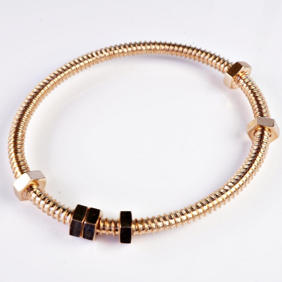 18k RG Bracelet in the Manner of Cartier