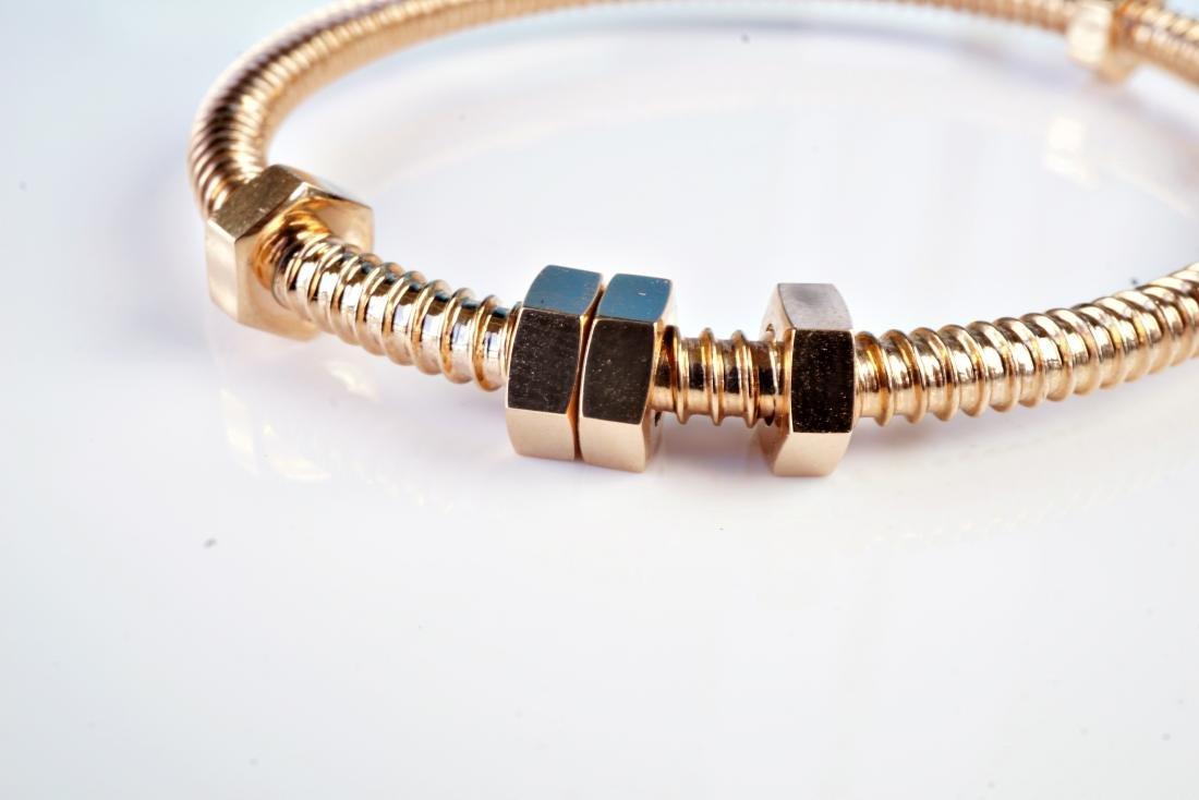 18k RG Bracelet in the Manner of Cartier - 2