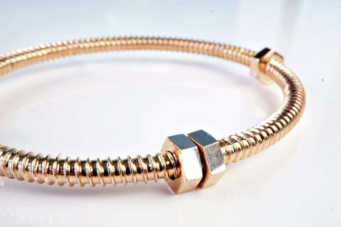 18k RG Bracelet in the Manner of Cartier - 3