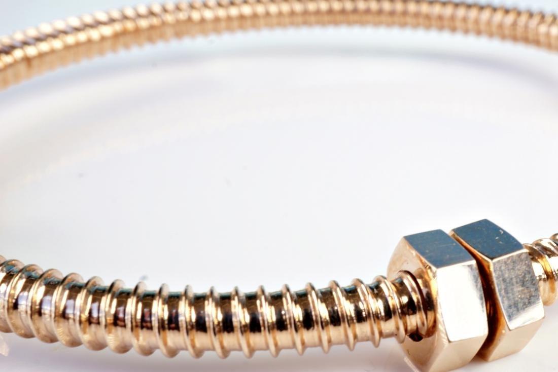 18k RG Bracelet in the Manner of Cartier - 4