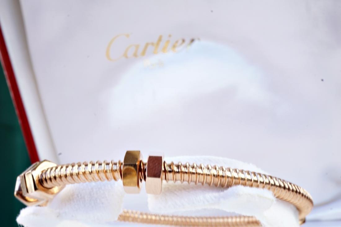 18k RG Bracelet in the Manner of Cartier - 5