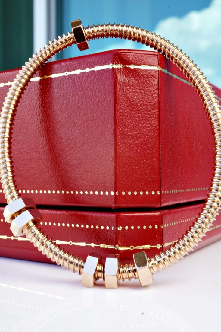 18k RG Bracelet in the Manner of Cartier - 6