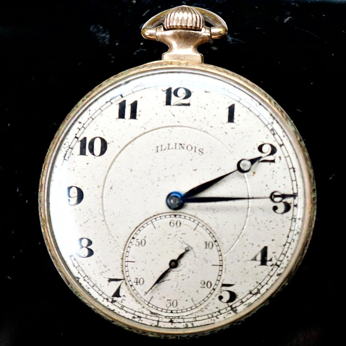 Illinois Pocket Watch 25 Year Case 12s