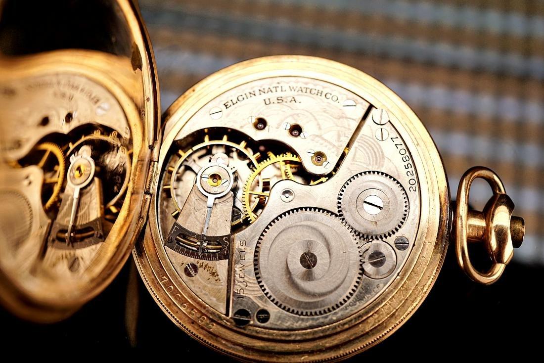 Springfield Illinois 20 Year Pocket Watch 18S - 6