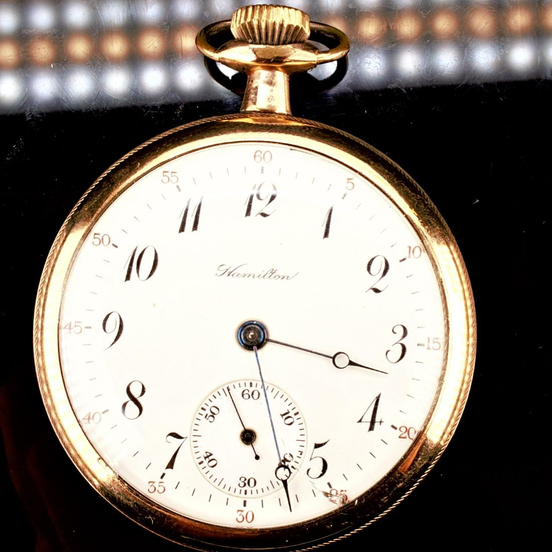 Hamilton 20 Year Gold Filled Pocket Watch 16S