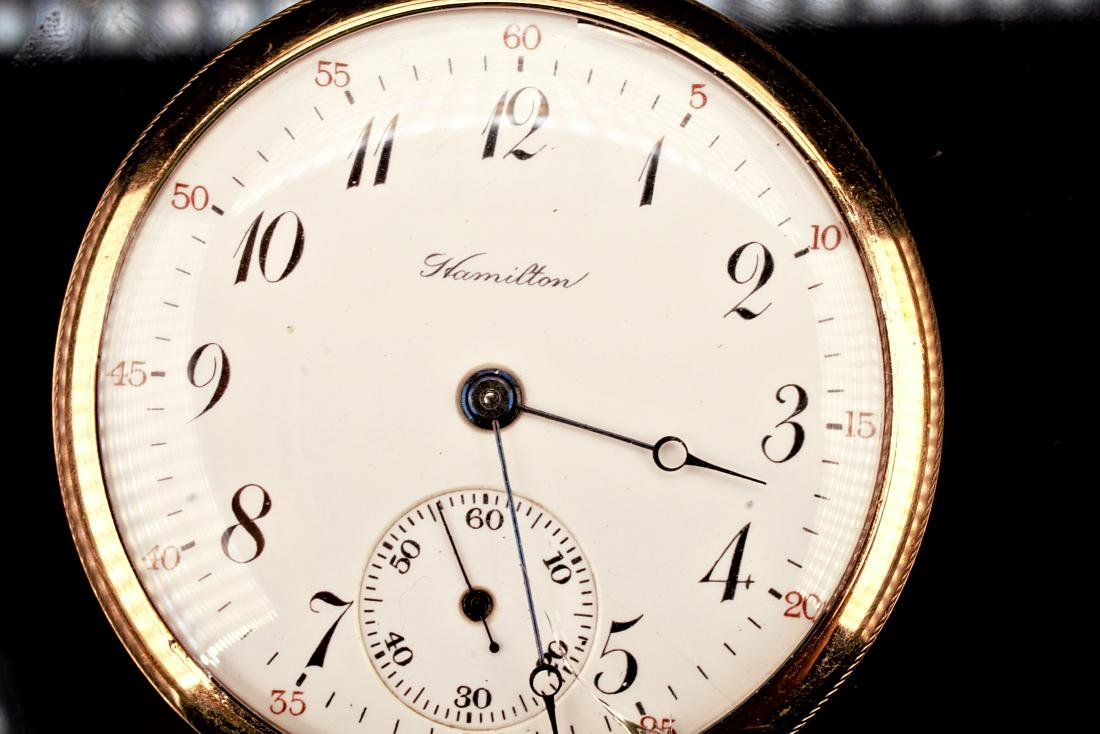 Hamilton 20 Year Gold Filled Pocket Watch 16S - 2