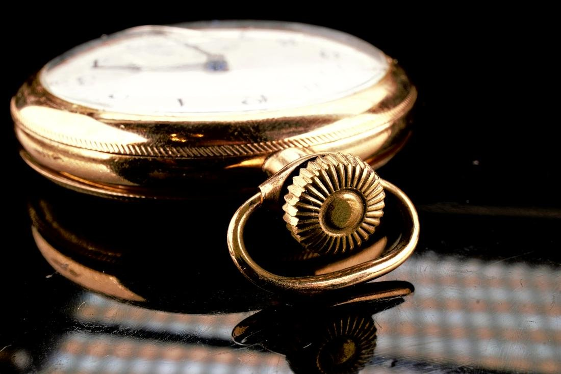 Hamilton 20 Year Gold Filled Pocket Watch 16S - 3