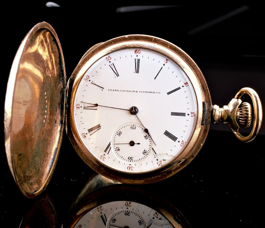Illinois Gold Filled Pocket Watch 16S