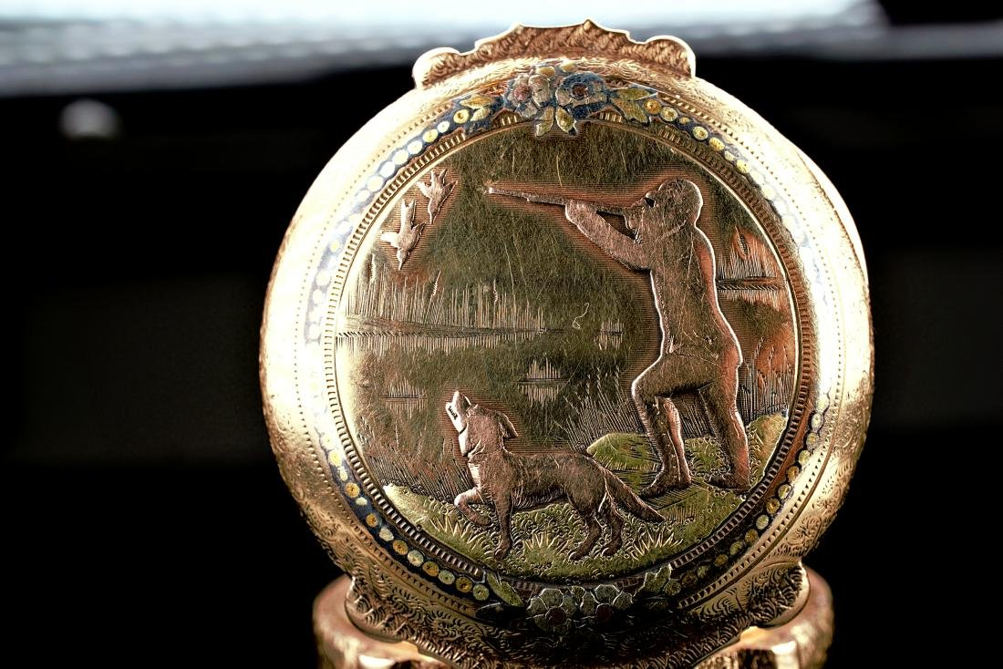 Hamilton 14k RG/YG Pocket Watch 16S - 10