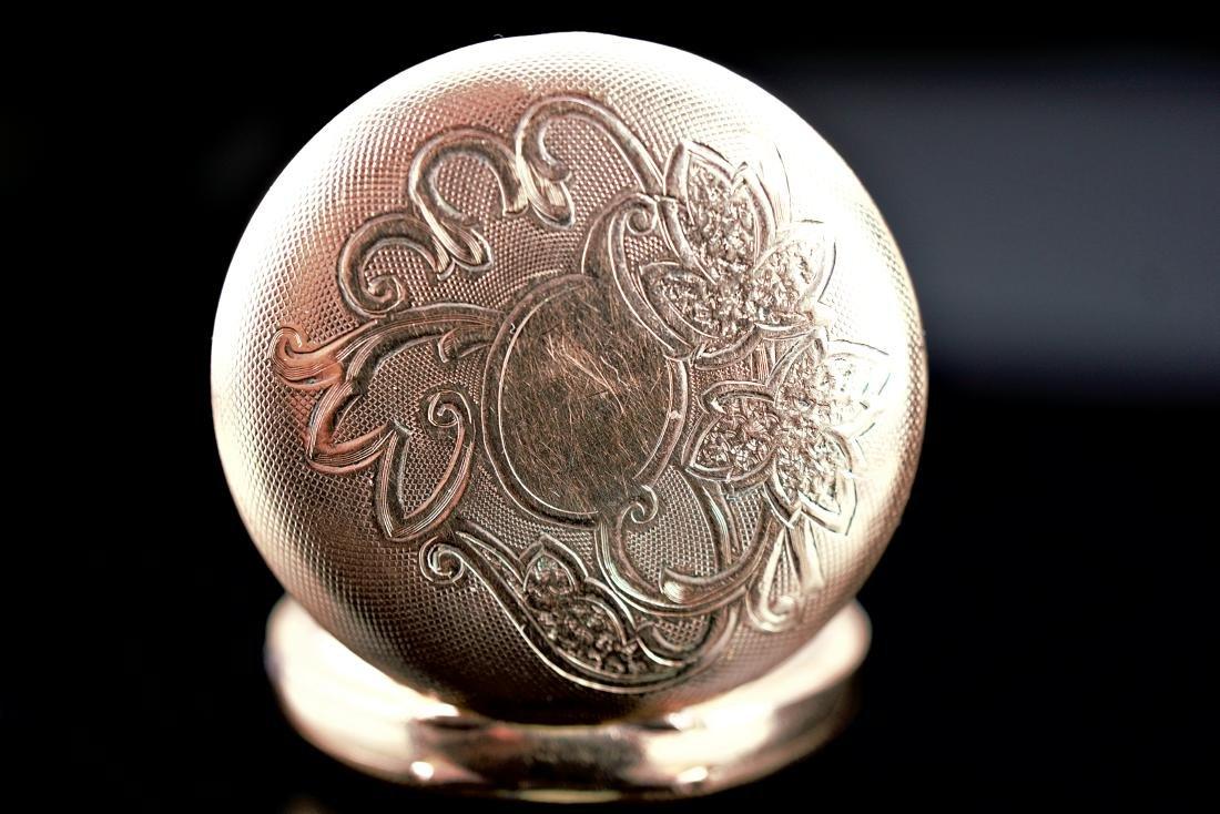 Hampden Dueber Special Gold Filled Pocket Watch 16S - 10